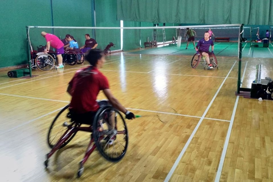 殘疾人羽毛球運動員赴泰進行海外集訓