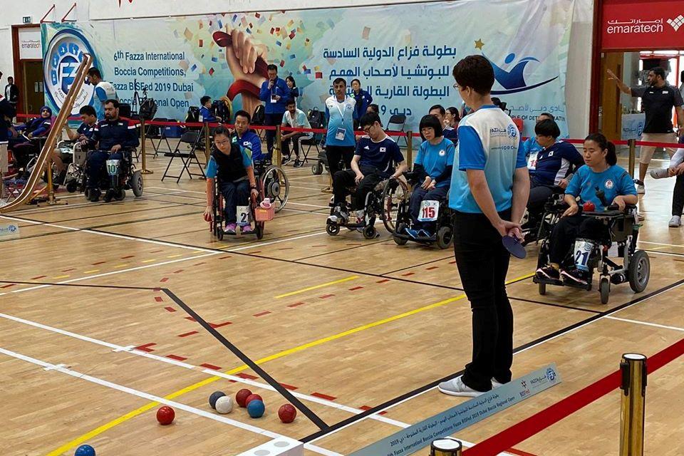 港隊於BISFed 2019杜拜硬地滾球亞洲及大洋洲公開賽取得一銅