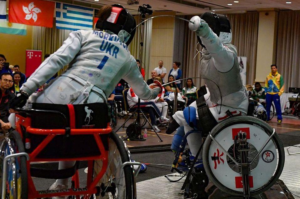 港將於IWAS輪椅劍擊世界盃 – 匈牙利埃格爾個人賽奪金