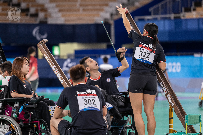 東京2020殘疾人奧運會第九日賽事   羽毛球、硬地滾球小組賽港隊報捷