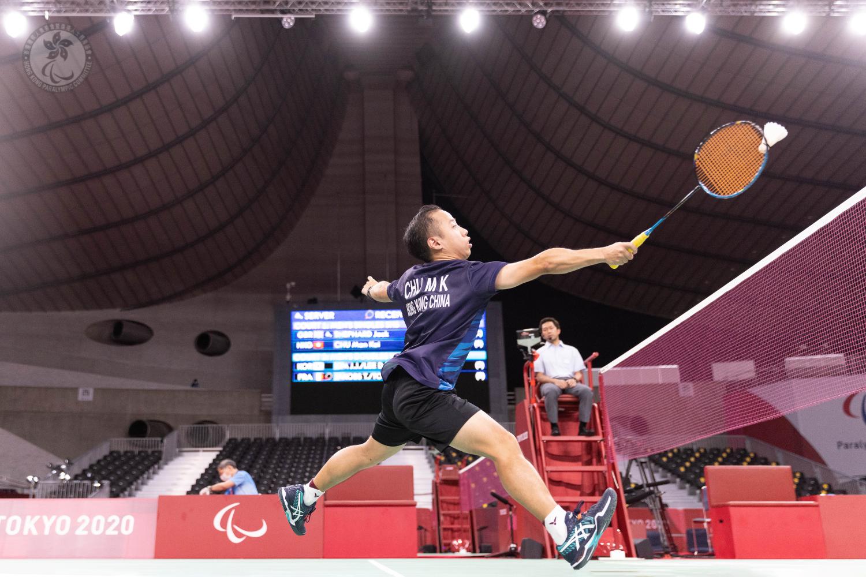 東京2020殘疾人奧運會第十日賽事  港隊躋身羽毛球單打及硬地滾球雙人賽四強