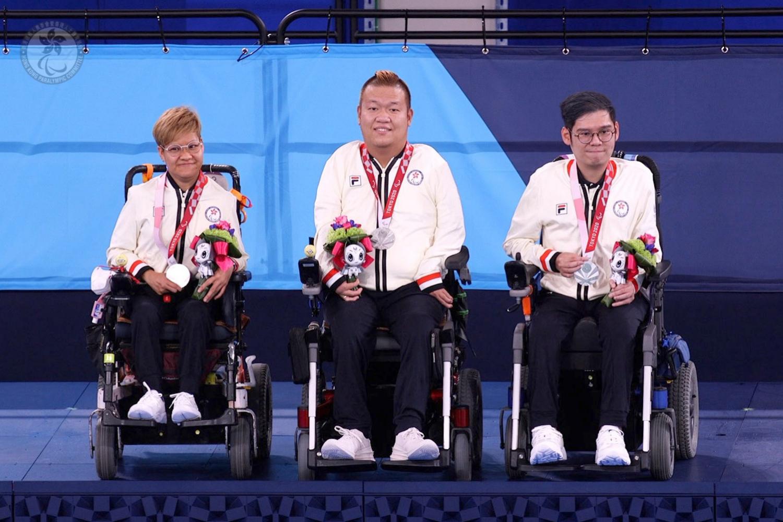 東京2020殘疾人奧運會第十一日賽事 港隊奪得硬地滾球雙人賽銀牌